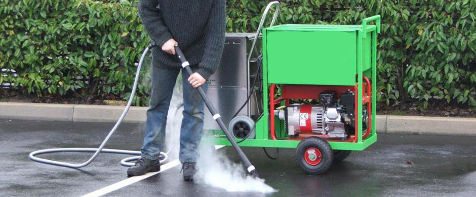 Chewing Gum Removal and Road Yard Sweeping Sservices