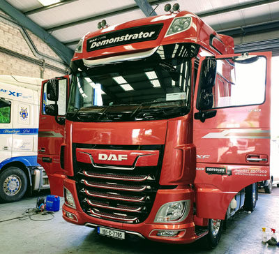 truck valeting and detailing